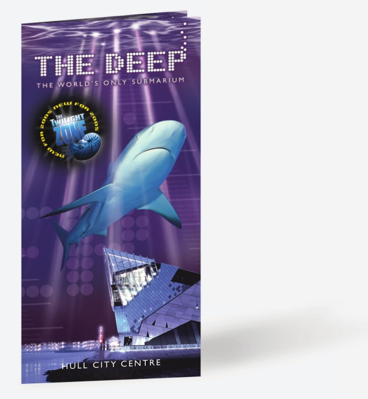 The Deep - Main Leaflet