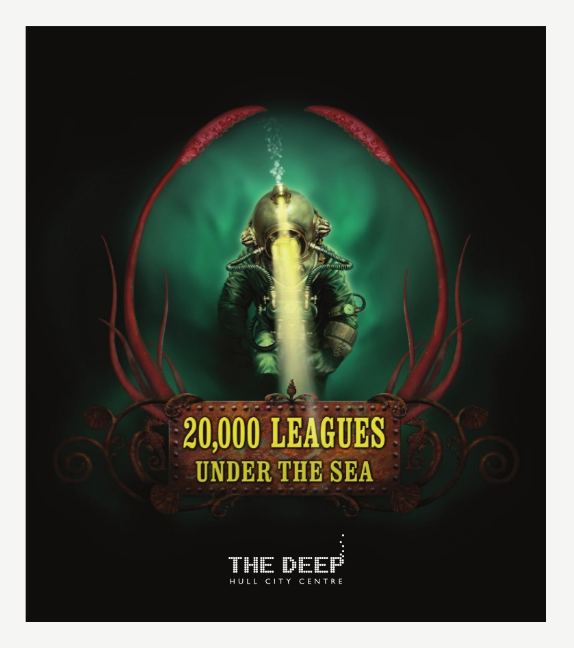 The Deep - Exhibition Marketing